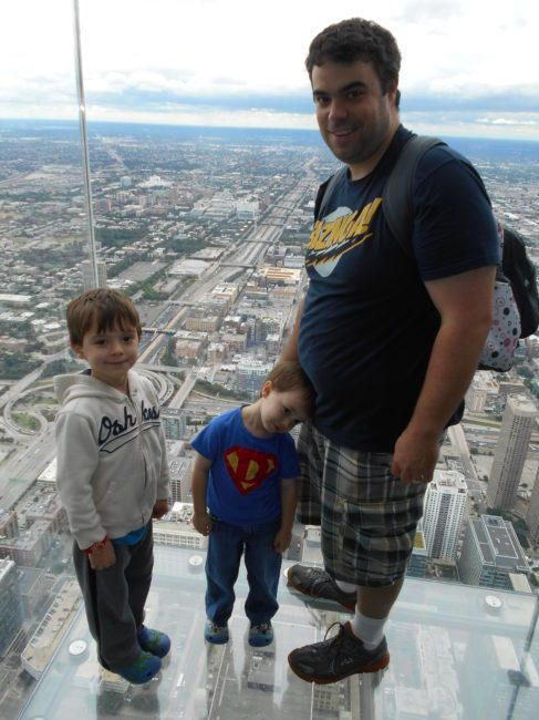 Skydeck Ledge - Toddling Around Chicagoland
