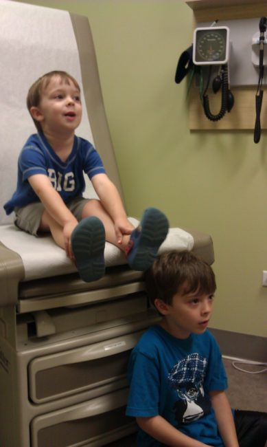 School Physical at Walgreens Healthcare Clinic - Toddling Around Chicagoland