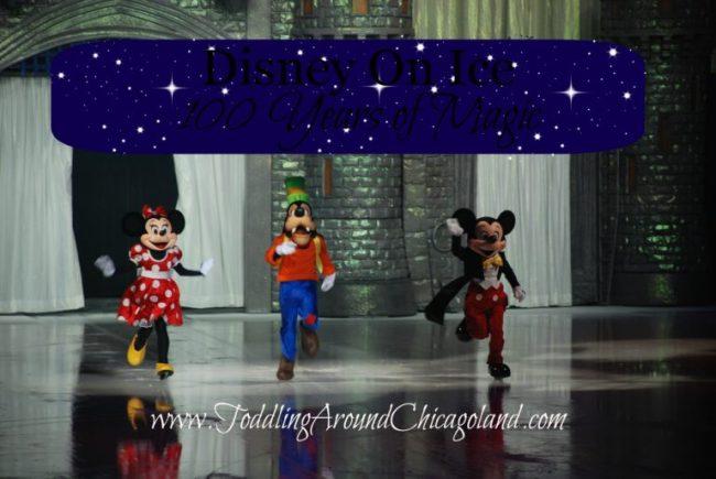 Disney On Ice 100 Years of Magic - Toddling Around Chicagoland
