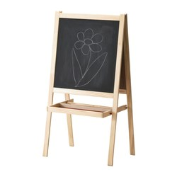 Toddler and Preschooler Gift Guide - Ikea easel - Toddling Around Chicagoland