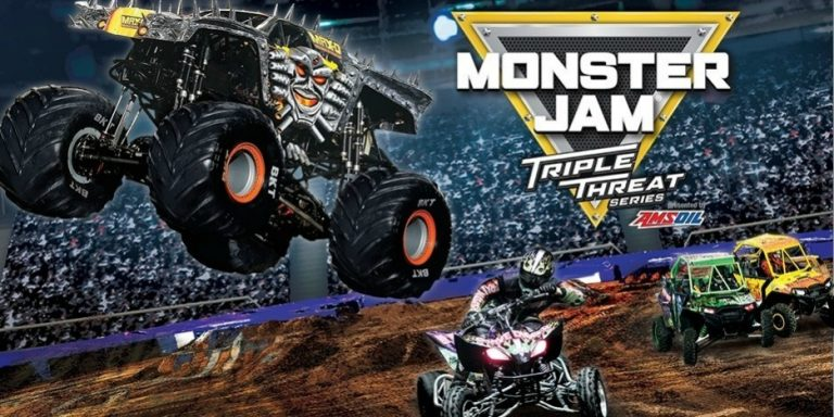 Monster Jam Roars Into Rosemont - 2018 - Toddling Around