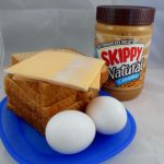 Comfort Food – Peanut Butter, Cheese, & Egg Sandwiches