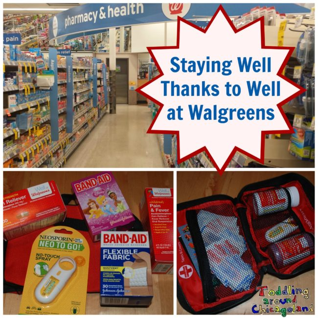 Well at Walgreens - Toddling Around Chicagoland #WellatWalgreens #shop #cbias