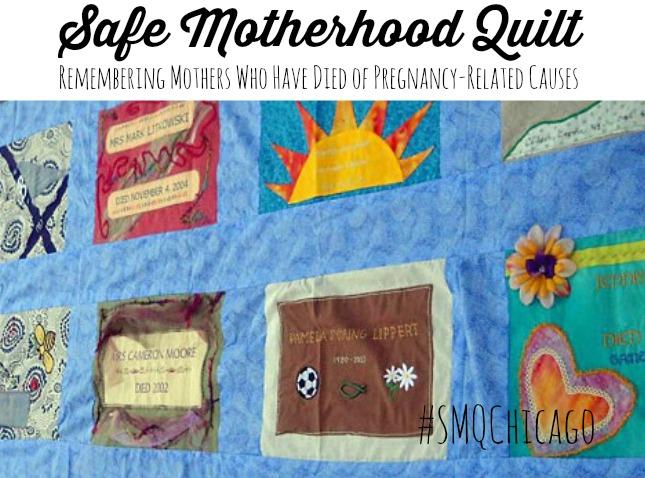 Safe Motherhood Quilt #SMQChicago