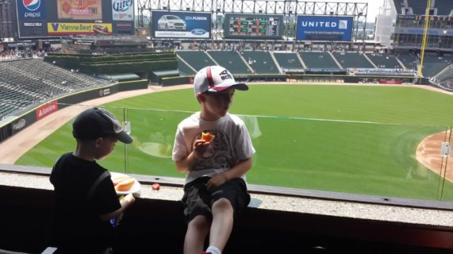 Chicago White Sox Family Sunday - Toddling Around Chicagoland