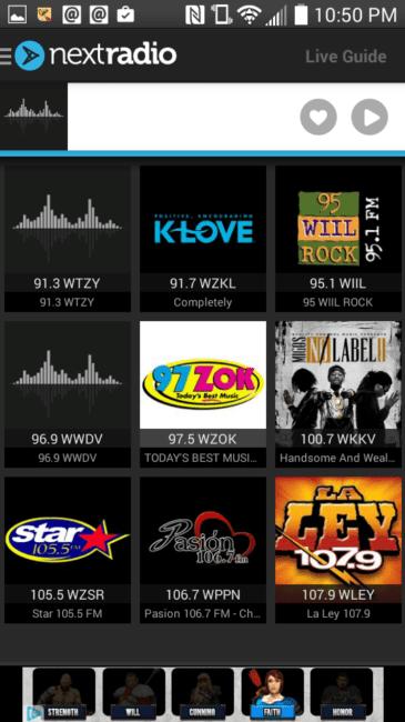 Sprint Gives Chicago Wireless a Boost - #Sponsored #MC #SprintMom #BoostMom - NextRadio Screenshot