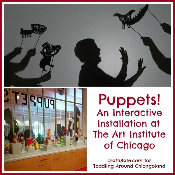 Puppets! An Interactive Installation at The Art Institute of Chicago