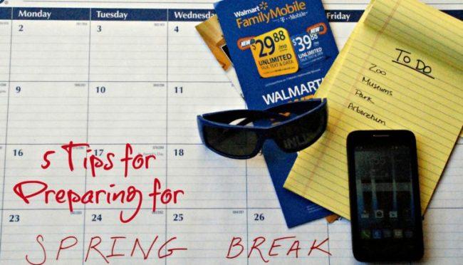 5 Tips for Preparing for Spring Break #MarchIntoSavings #cbias #ad