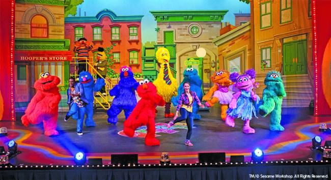 Sesame Street Live: Let's Dance! Giveaway