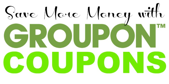 Save More Money with Groupon Coupons #sponsored