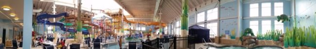 Blue Harbor Resort - waterpark - panorama