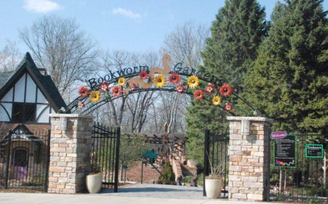 Bookworm Garden #Sheboygan - entrance