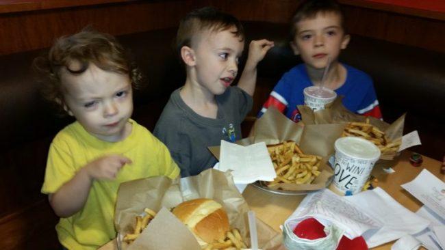 Meatheads #voraciousreaders eating
