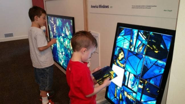 Chagall for Children at the Kohl Children's Museum -  American Windows