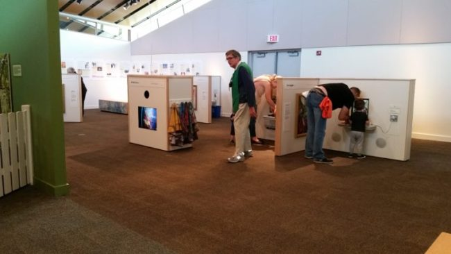 Chagall for Children at the Kohl Children's Museum - stations