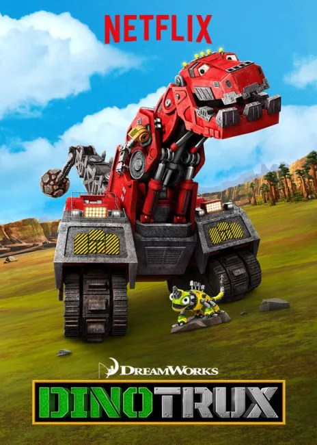 Netflix Helps with Back-to-School Blues #StreamTeam #sponsored #Dinotrux