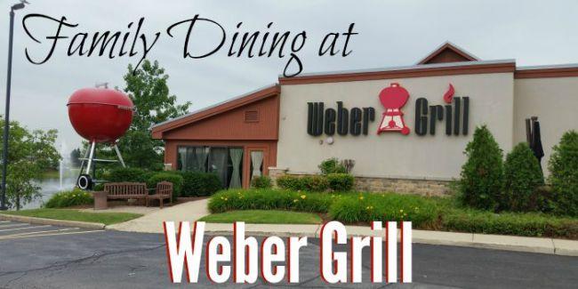 Family Dining at Weber Grill #webergram