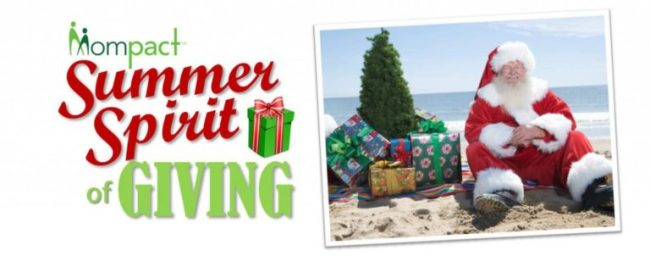 Mompact Summer Spirit of Giving