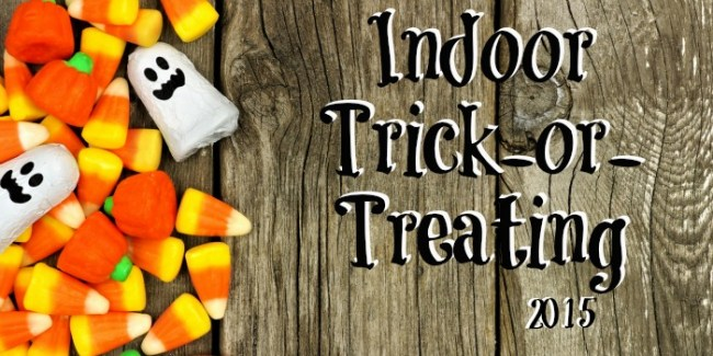 Indoor Trick-or-Treating 2015 - Toddling Around Chicagoland #Chicago #Halloween