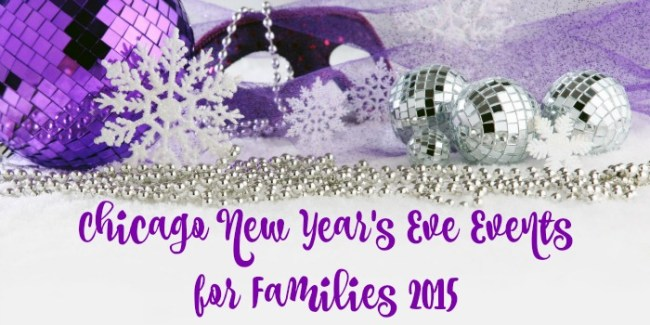 Chicago New Year's Eve Events for Families 2015