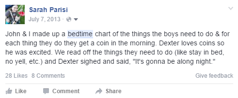 #StreamTeam bedtime FB post 2013 [ad]