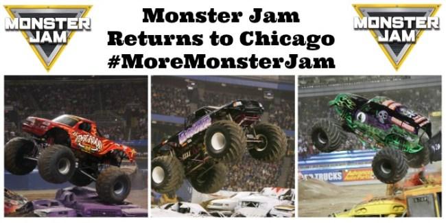 Monster Jam Returns to Chicago #MoreMonsterJam
