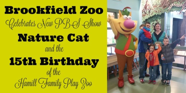 Brookfield Zoo Celebrates Nature Cat, 15th birthday
