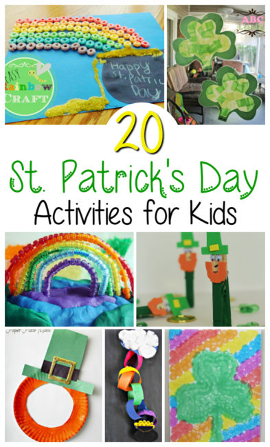 20 St. Patrick's Day Activities for Kids