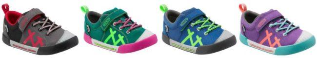 KEEN Kids' Encanto Sneakers for little kids