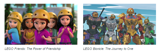 Netflix #StreamTeam - Lego Friends and Bionicle March 2016