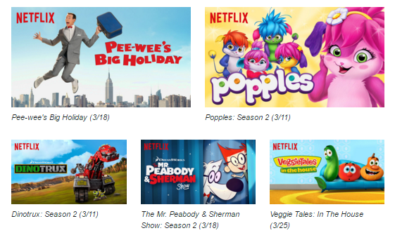 Netflix #StreamTeam - New on Netflix for Tweens, Teens, and Families March 2016