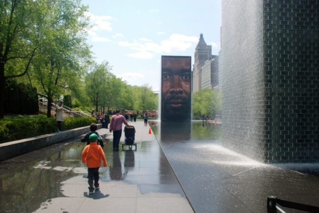 Chicago City Guide sponsored by Chicco #ChiccoKidsCityGuide [ad] - Crown Fountain
