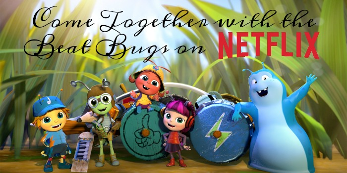 Come together with the Beat Bugs on Netflix #StreamTeam [ad] #BeatBugs