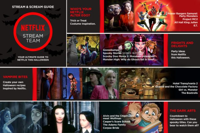 Netflix Stream & Scream Guide #StreamTeam [ad]