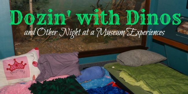 Sleeping bags at Field Museum for overnight