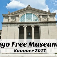 Chicago Free Museum Days – Summer 2017