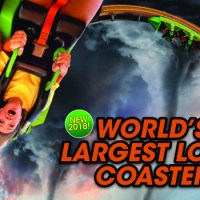 Chicago Six Flags Great America World's Largest Loop Coaster 2018