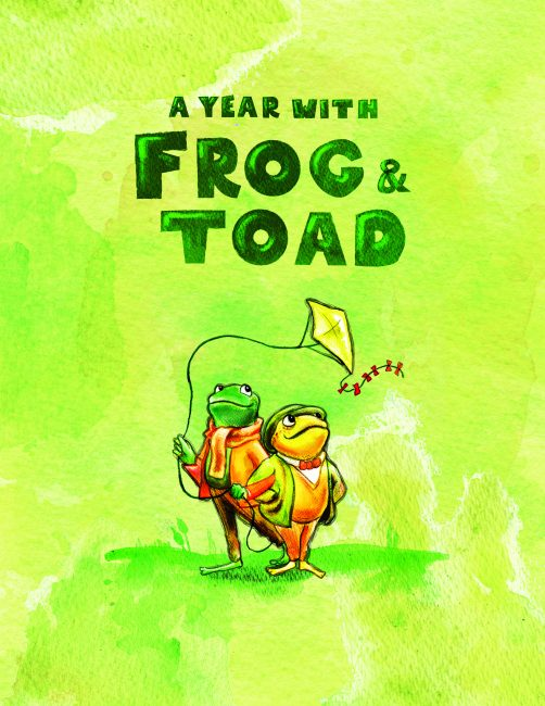 A year with frog and toad comes to chicago childrens theatre a year with frog toad artwork fandeluxe Images