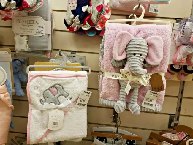 Baby blanket gift sets at Marshall's