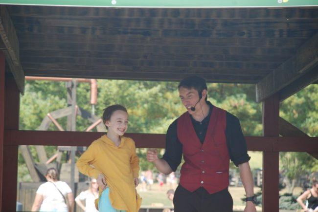 Magic show at All Seasons Apple Orchard