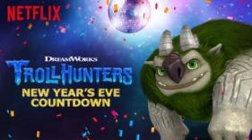 Trollhunters NYE Countdown on Netflix #StreamTeam