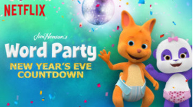 Word Party - NYE Countdown on Netflix #StreamTeam