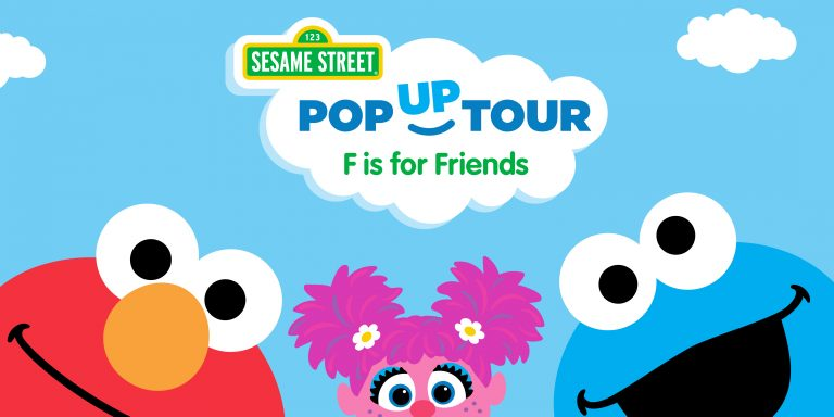 Sesame Street The Letter Of The Month Club.Sesame Street F Is For Friends Pop Up Tour Toddling