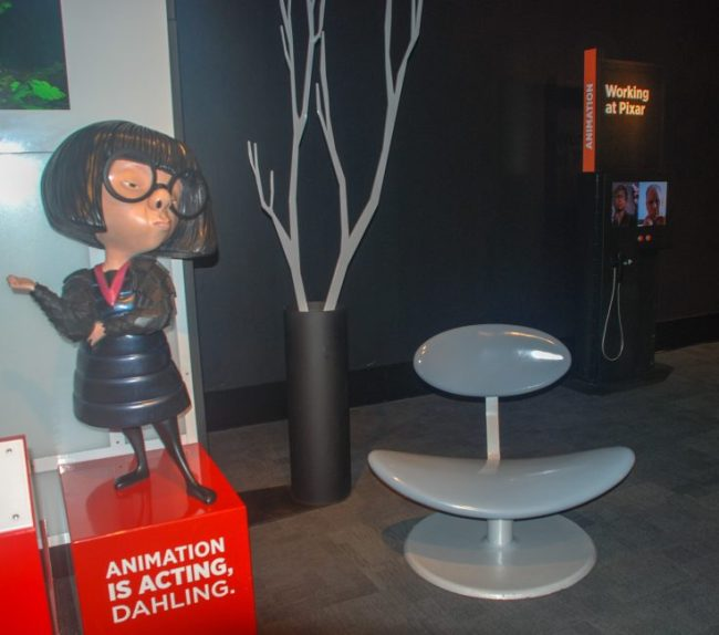 Edna Mode from The Incredibles at MSI