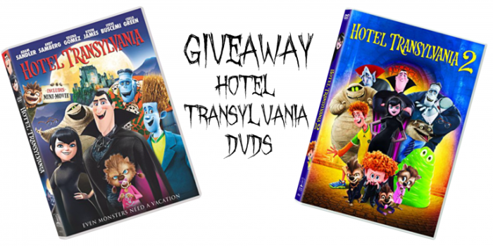 Giveaway: Hotel Transylvania and Hotel Transylvania 2 DVDs