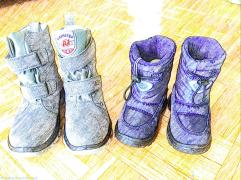 Neutrino snow boots -New York winter