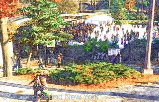 Central Park ice rink - New York ice skating