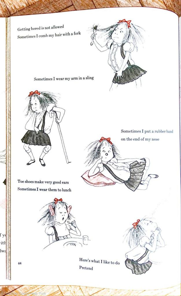 Eloise being Eloise  New York books -