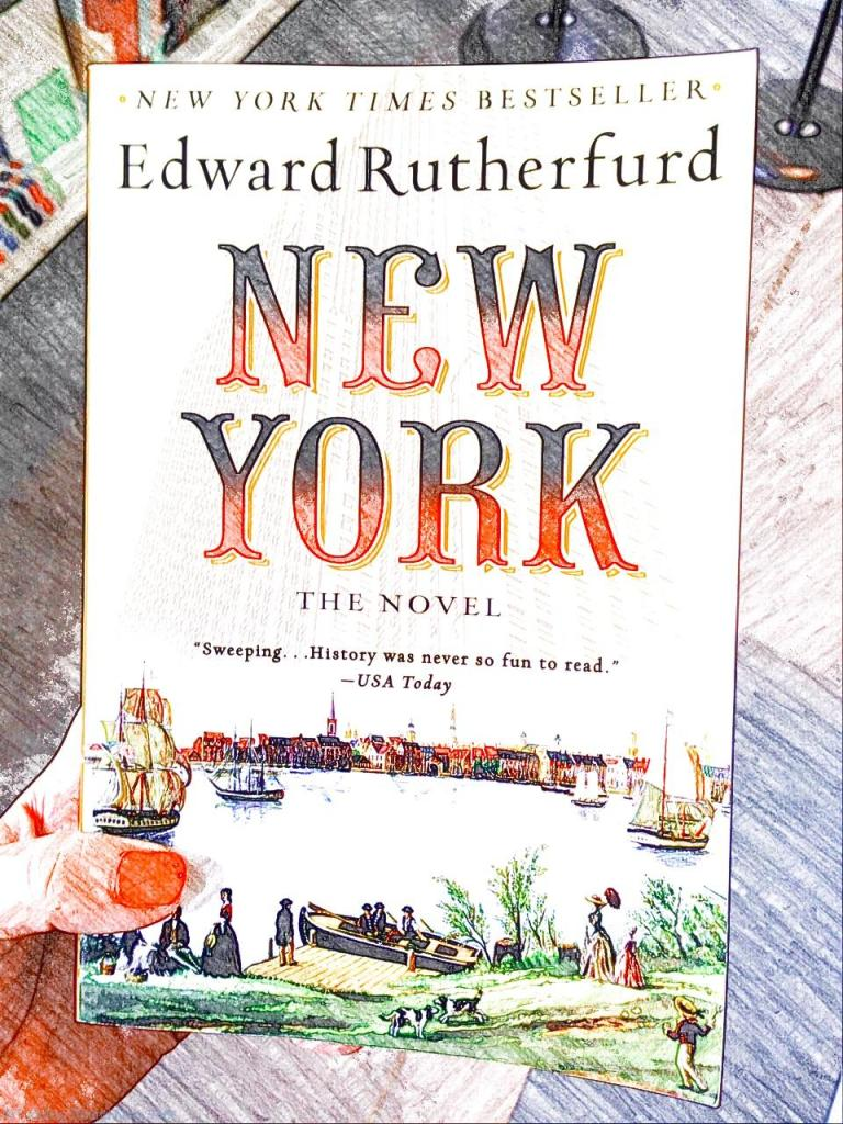 New York books - Edward Rutherfurd