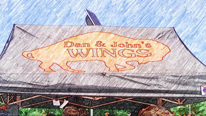Classic American buffalo wings